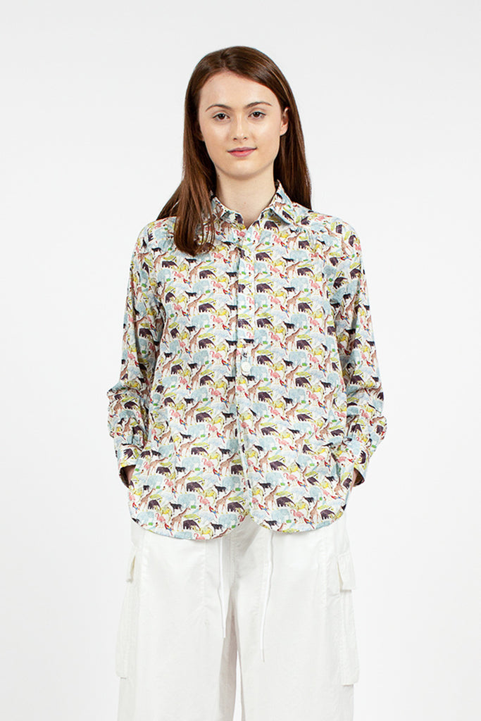 Round Collar Zoo Shirt