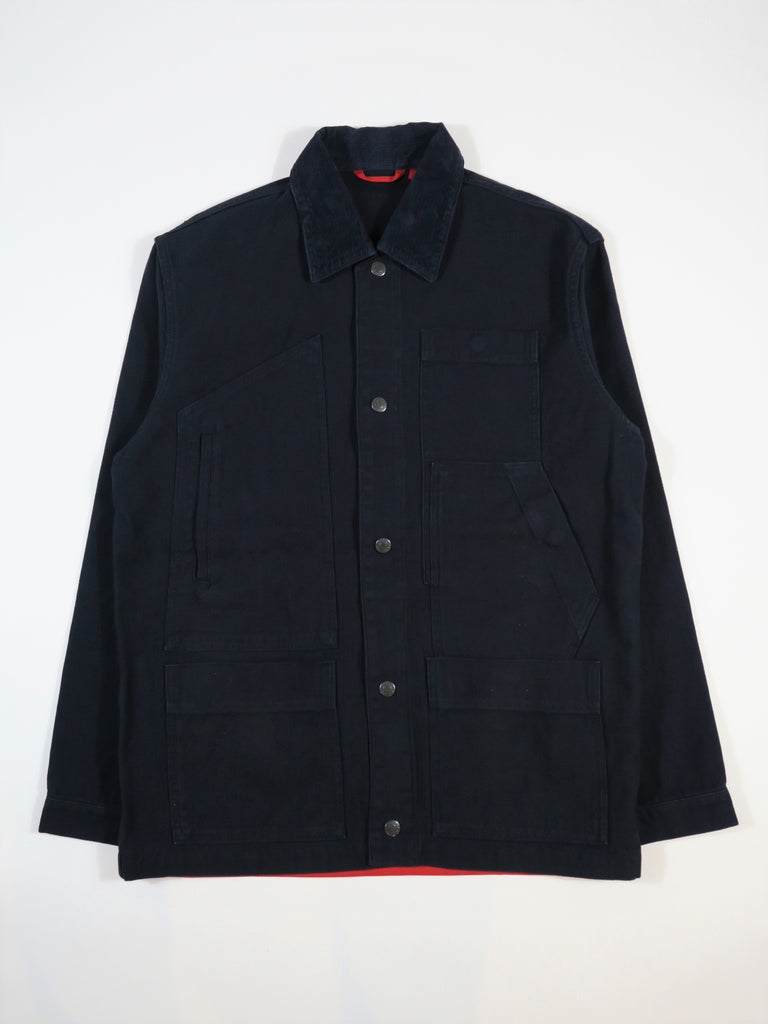 Homecore Mariott Rversible Twill Jacket in Navy