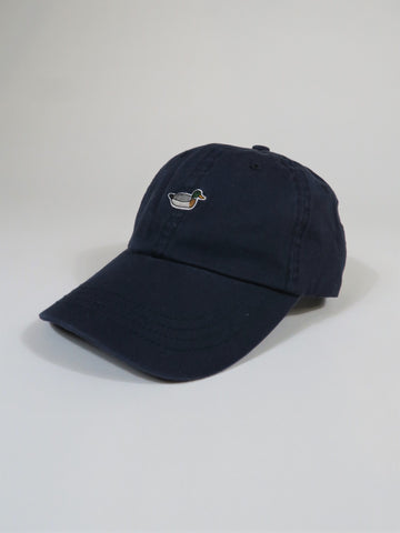 Edmmond Studios Twill Duck Cap in Navy