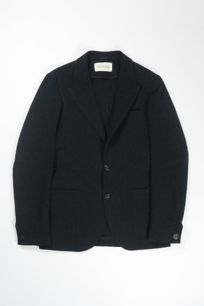 Oliver Spencer Finsbury Jacket Tamworth in Midnight