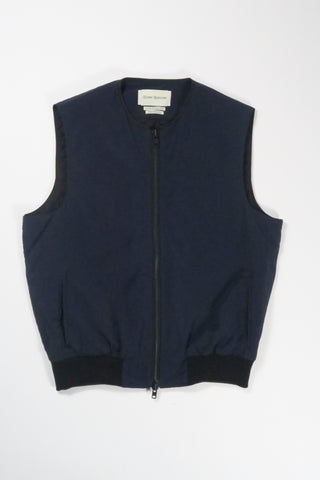 Oliver Spencer Hunston Gilet Pino in Navy
