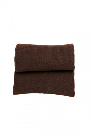 Homecore Baby Alpaca/Wool Scarf in Dark Brown