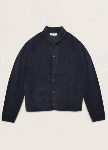 You Must Create (YMC) Beach Towelling Jacket in Navy P7QAJ40