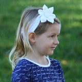 Rosey Reversible Headband - Three Friends Apparel
