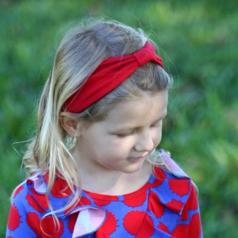 Rosey Reversible Headband Fall Prints - Three Friends Apparel