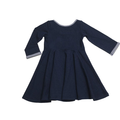 Lula Belle Twirl Dress Denim