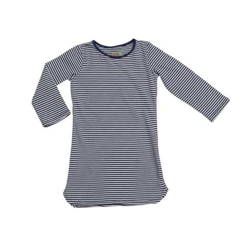 Sweet Tea Dress Navy Stripe - Three Friends Apparel