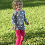 Josie Tunic Legging Set Dove Dot - Three Friends Apparel