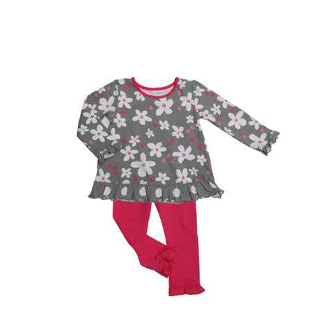 Allie Baby Legging Set Sugar Bloom - Three Friends Apparel