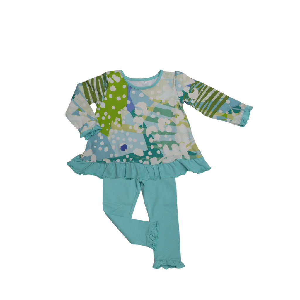Allie Baby Legging Set Wild One - Three Friends Apparel
