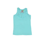 Baylor Racerback Top Aqua - Three Friends Apparel