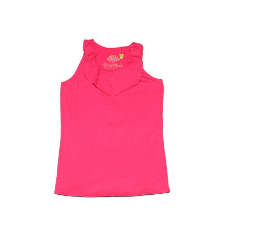 Baylor Racerback Top Hot Pink (Solids) - Three Friends Apparel