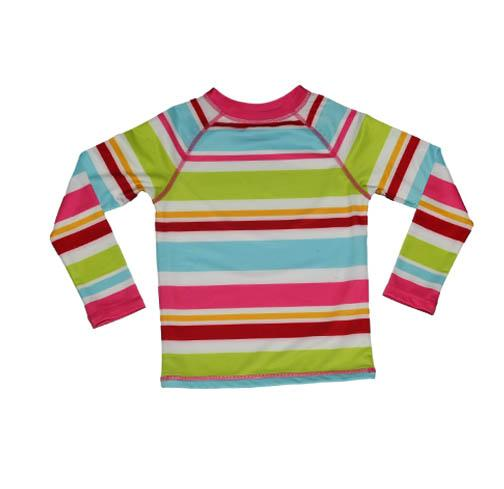 Zahra RashGuard ALOHA STRIPE - Three Friends Apparel