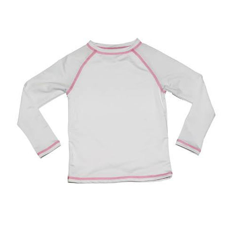 Zahra RashGuard WHITE - Three Friends Apparel
