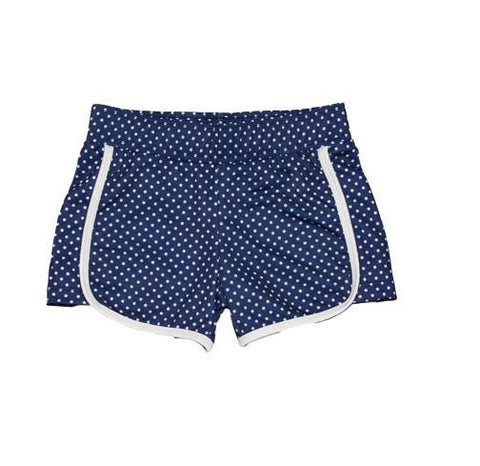 Riley Sport Short  Navy Pinned - Three Friends Apparel