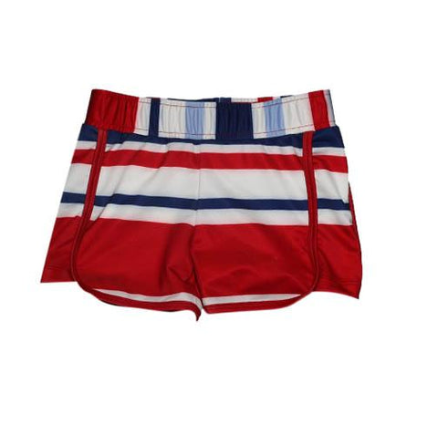 Riley Sport Short  Striped Sails - Three Friends Apparel