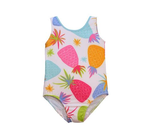Jacen One Piece Bathing Suit PINEAPPLE - Three Friends Apparel