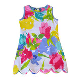 K!K! Fascination Floral Reversible Dress - Three Friends Apparel