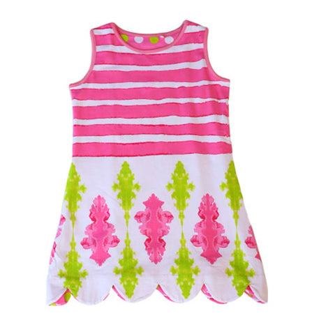 K!K! Rendezvous Reversible Dress - Three Friends Apparel