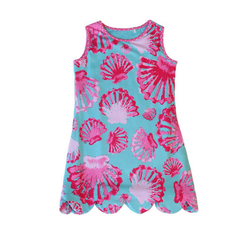 K!K! Sea Shell Reversible Dress - Three Friends Apparel