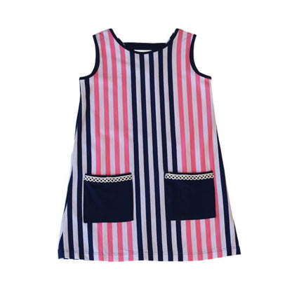 PollyAnna Hideaway Stripe Dress