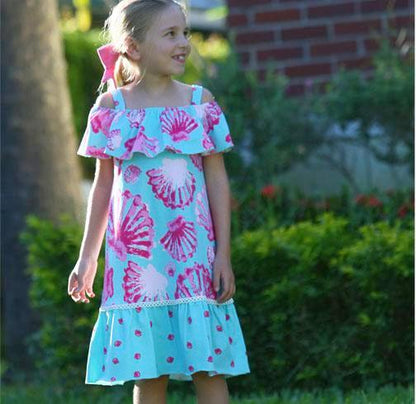 Cindy SeaShell Dress
