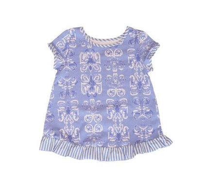 Summer Batik Swing Top