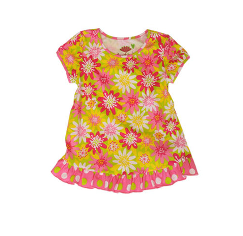 Summer Enchanted Daisy Swing Top - Three Friends Apparel
