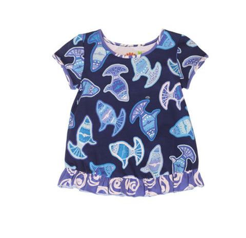 Summer Voyager Swing Top - Three Friends Apparel
