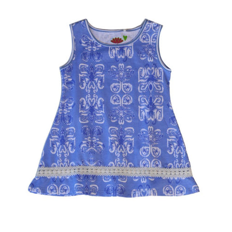 Lola Batik Swing Tunic - Three Friends Apparel