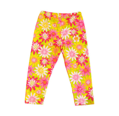 Sweet Pea Capri Enchanted Daisy - Three Friends Apparel