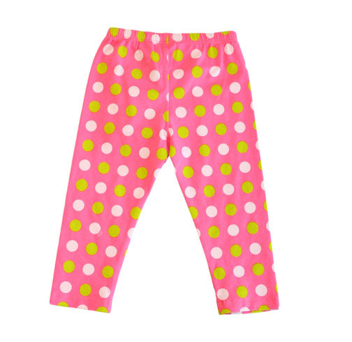 Sweet Pea Capri SmittEn Dot - Three Friends Apparel
