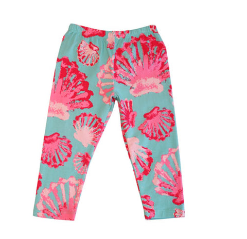 Sweet Pea Capri SeaShell - Three Friends Apparel