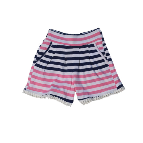 Breezies Short Hideaway Stripe - Three Friends Apparel