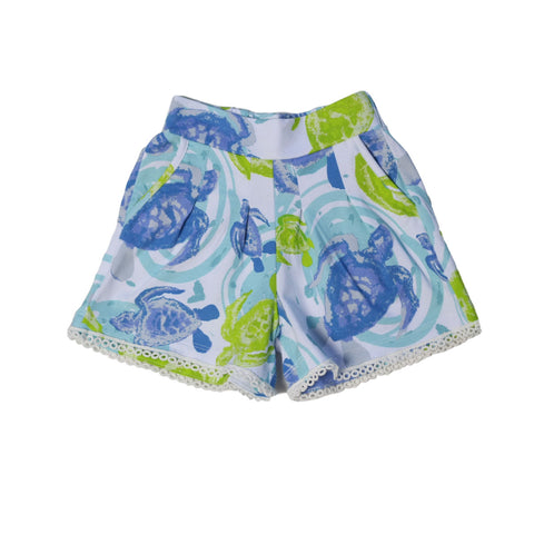 Breezies Short Sea Turtles - Three Friends Apparel