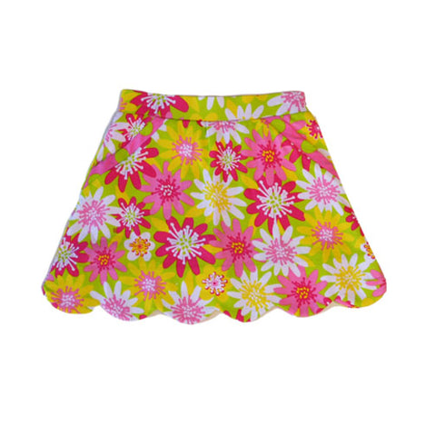 Sassy Enchanted Daisy Skort - Three Friends Apparel