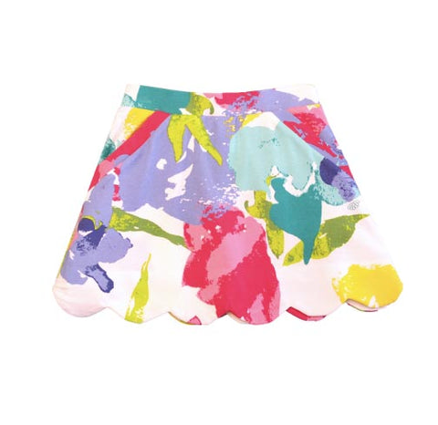Sassy Fascination Floral Skort - Three Friends Apparel