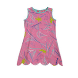 K!K! Cruisin and Wild Flamingo Reversible Dress - Three Friends Apparel