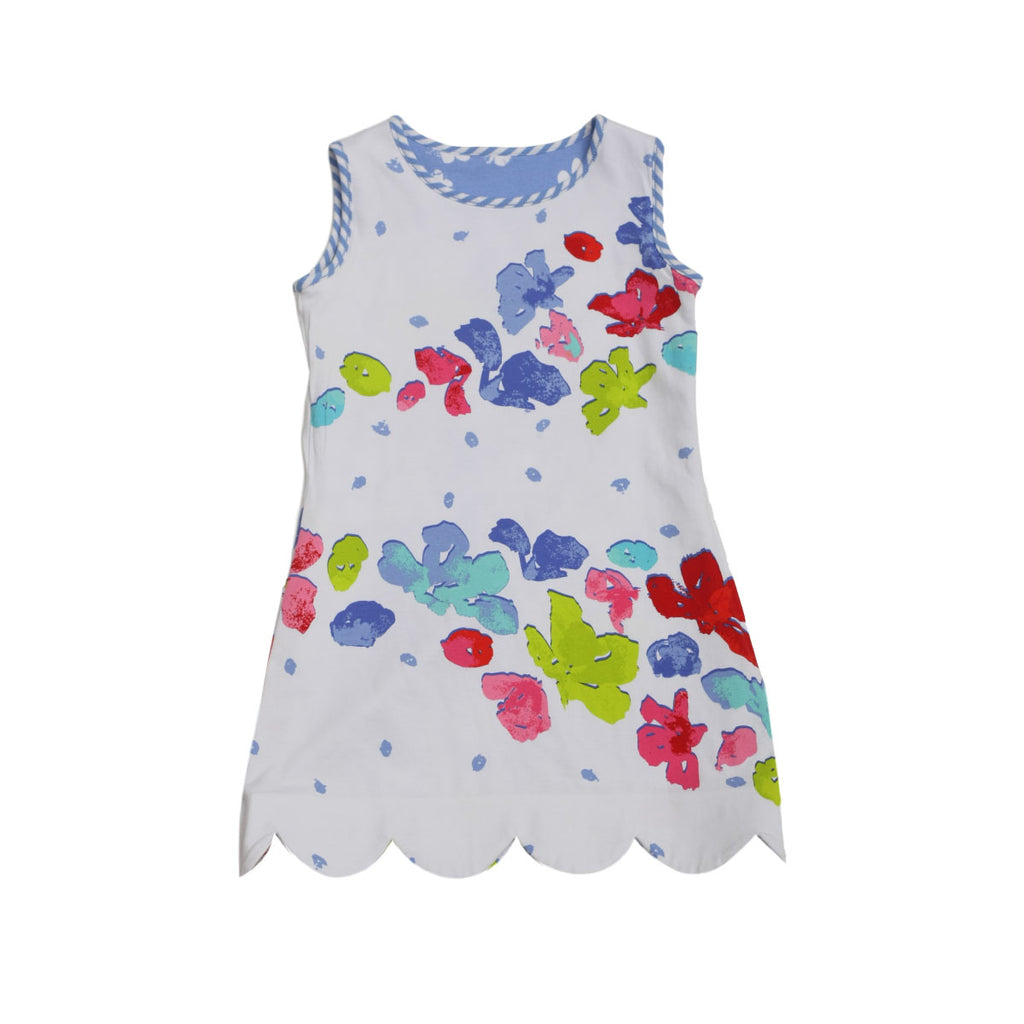 K!K! Tropicale and Peri Reversible Dress - Three Friends Apparel