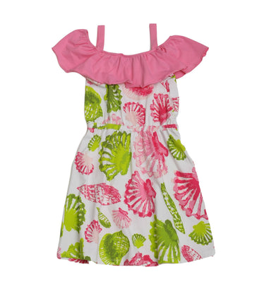 Cindy Shoreline Hibiscus Dress
