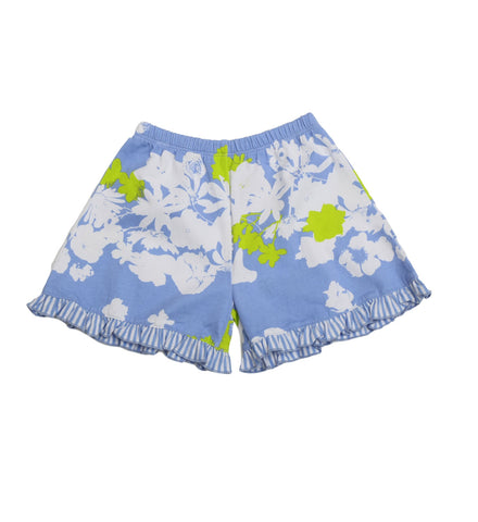 Little Truffle Short Peri Garden Party - Three Friends Apparel