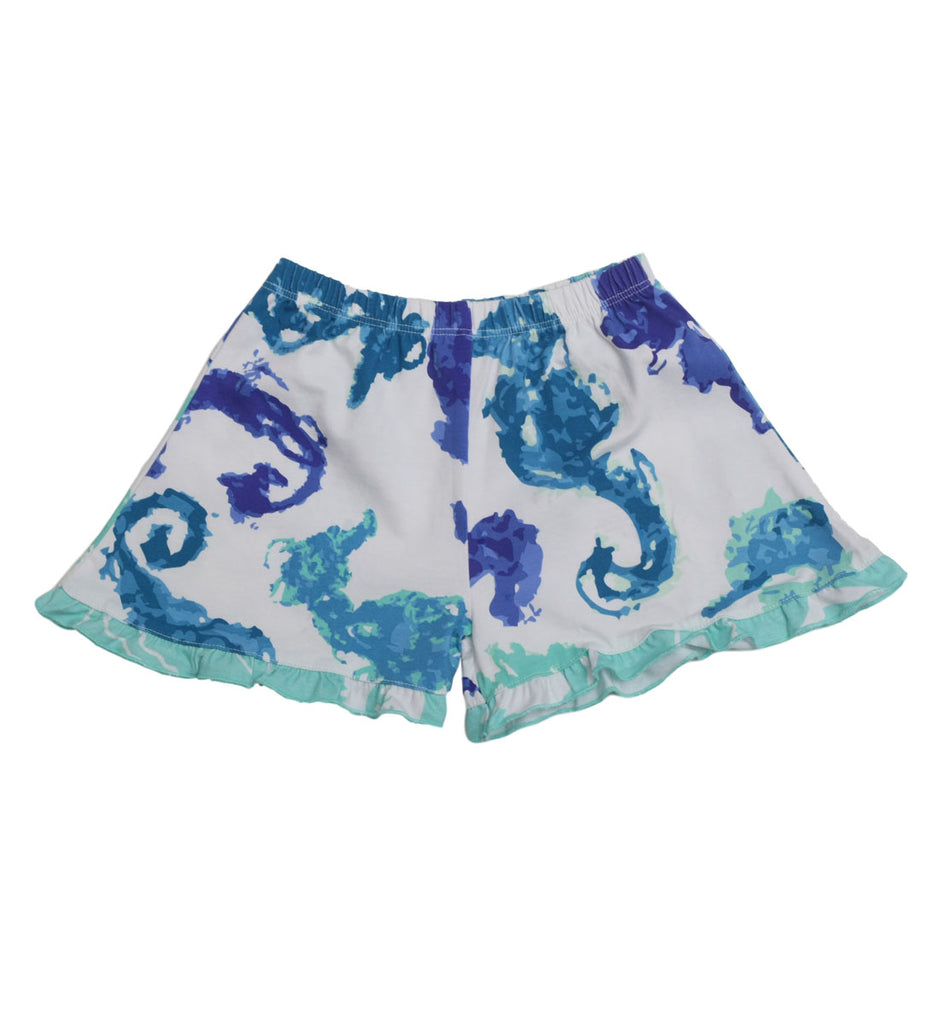 Little Truffle Short Seahorsies - Three Friends Apparel