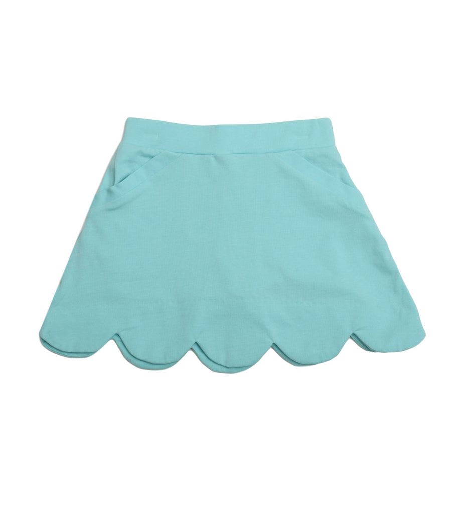 Sassy Aqua Skort - Three Friends Apparel