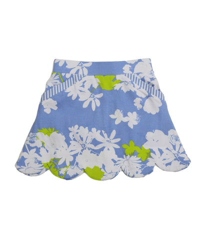 Sassy Peri Garden Party Skort - Three Friends Apparel