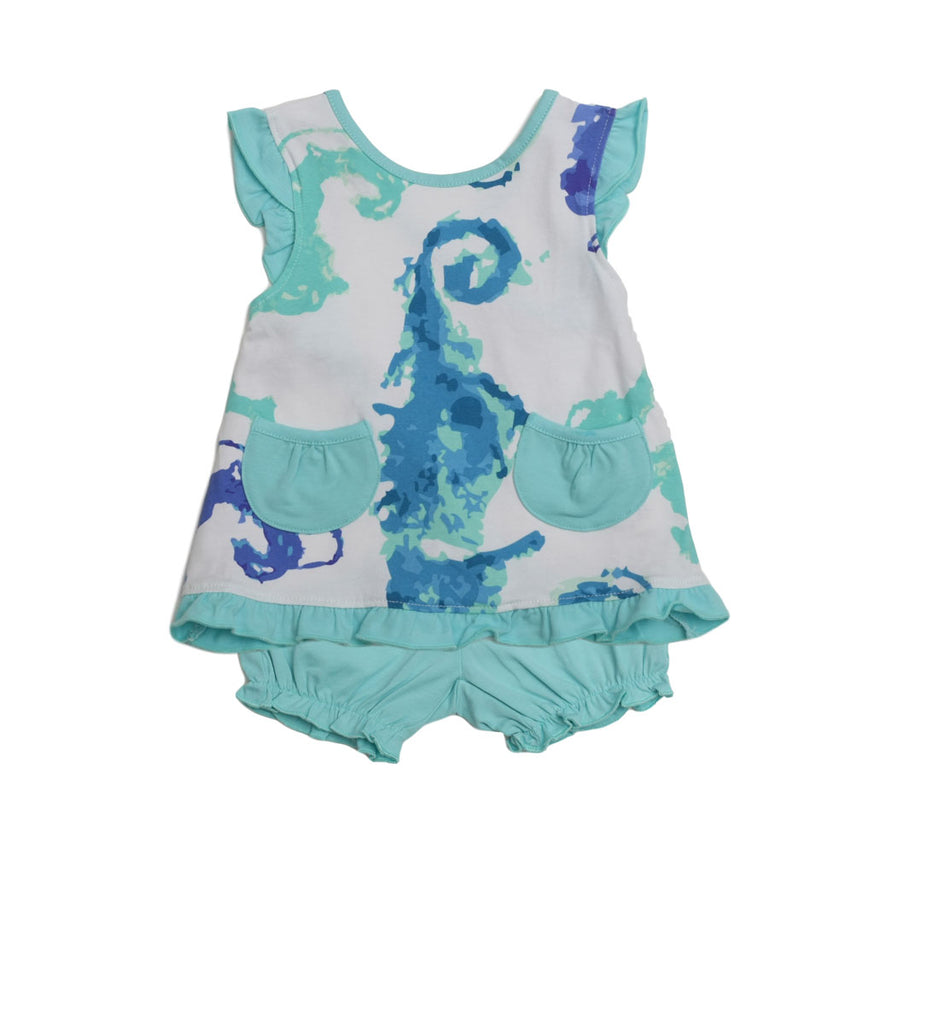 Alice Sundress SeaHorsies - Three Friends Apparel