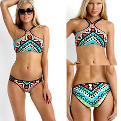 Tribal String Bikini