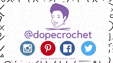 Follow Dope Crochet on Social Media