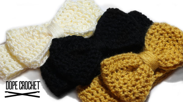 ARYSSA Bow Headband - Earwarmer