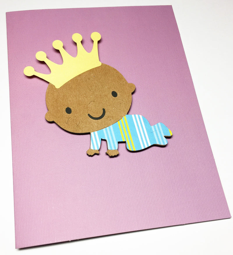 Baby Boy Thank You Card