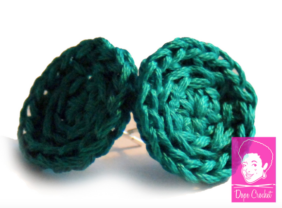ELLE Crochet Stud Earrings